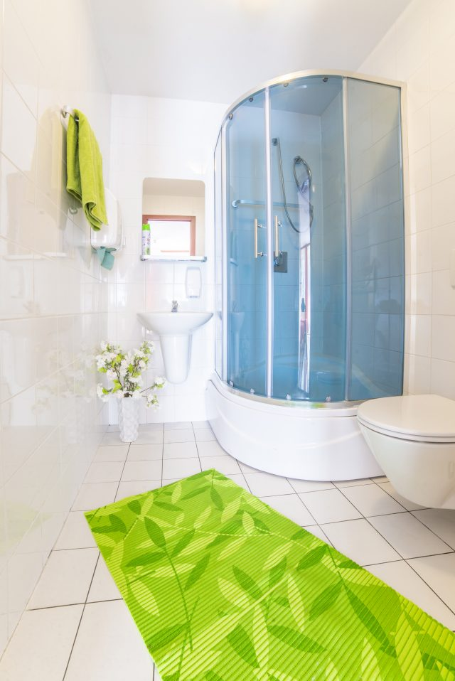 Komfortowe łazienki Green Hostel Toruń