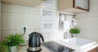 W pełni wyposażona kuchnia (ENG)